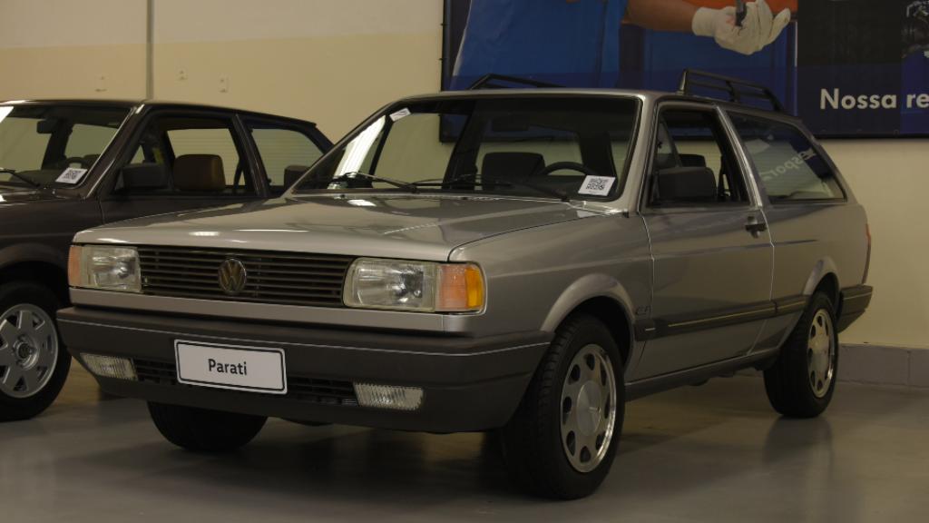 garagem-vw-volkswagen-parati-gls-1994 Você sabia disso? Carros da Volkswagen clássicos estão em garagem secreta...