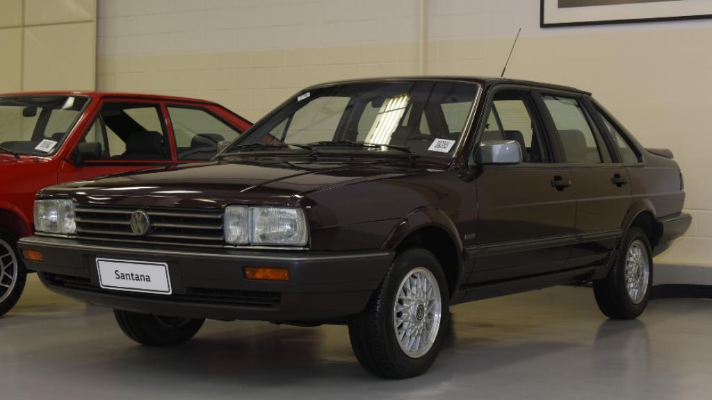garagem-vw-volkswagen-santana-ex-1991 Você sabia disso? Carros da Volkswagen clássicos estão em garagem secreta...