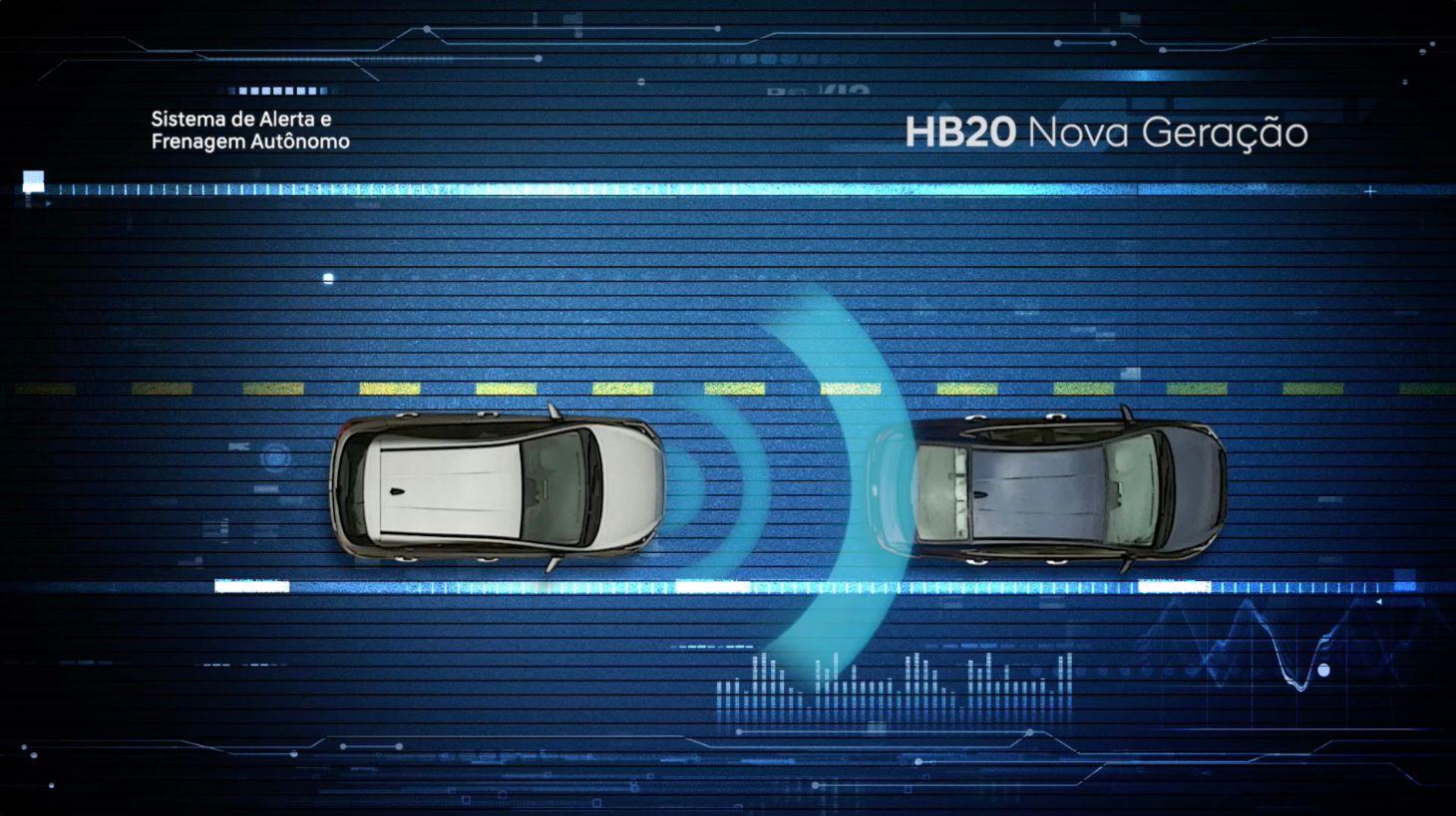 sistema de frenagem autonoma hb20 2020
