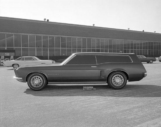 perua do ford mustang sation wagon prototipo 1966 2