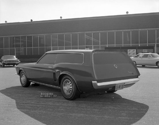 perua do ford mustang sation wagon prototipo 1966 3