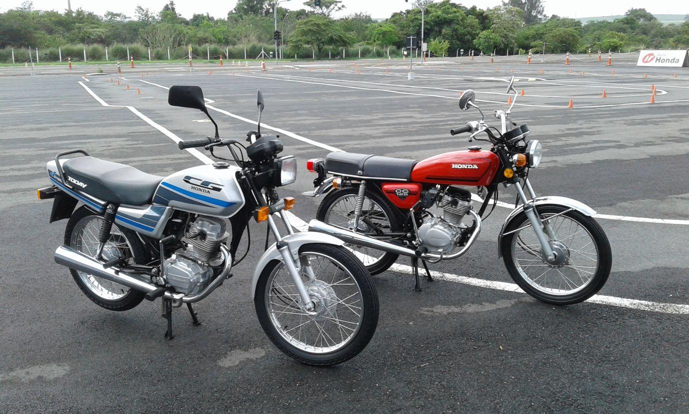 Gerações intermediárias da Honda CG