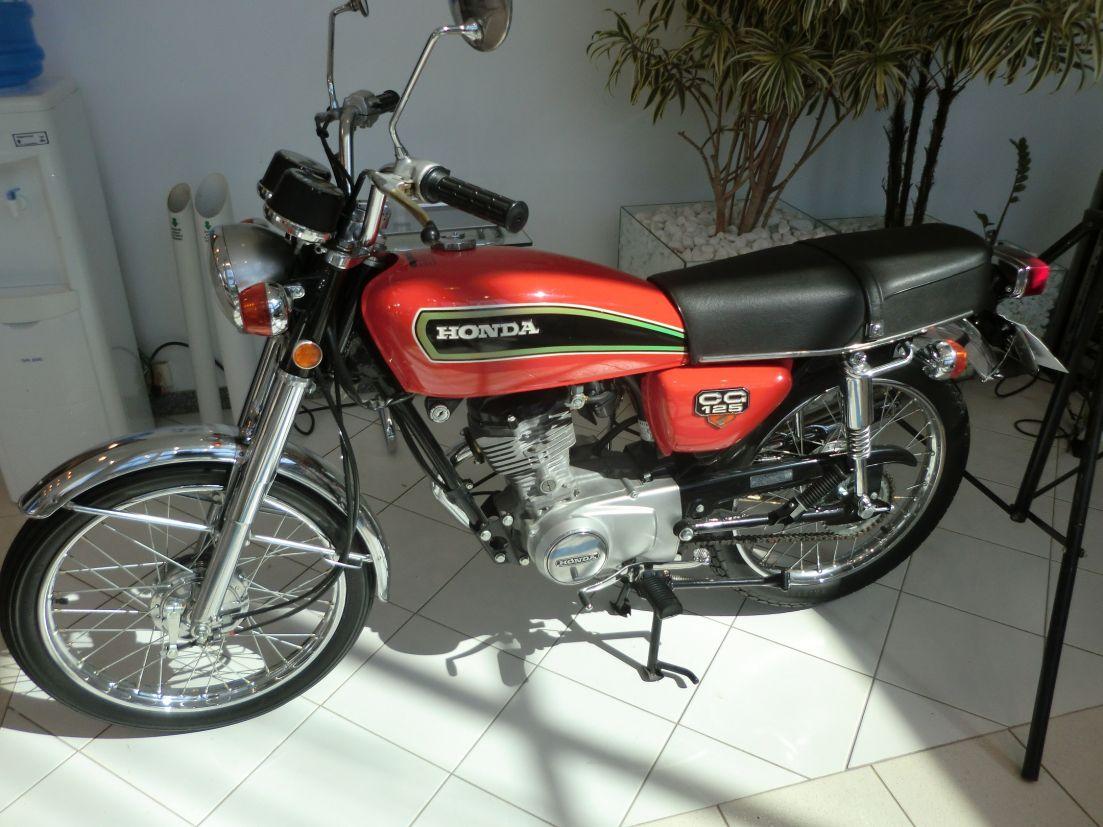 Primeira Honda CG 125