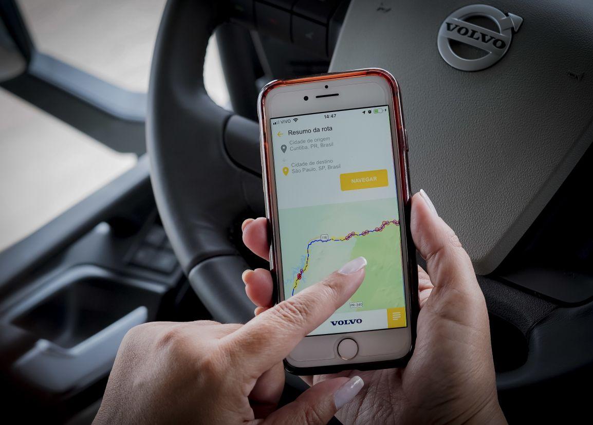 volvo eu rodo seguro aplicativo seguranca veicular automoveis automotivo