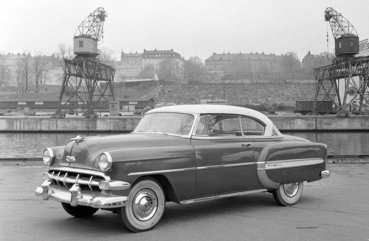 chevrolet bel-air 1954