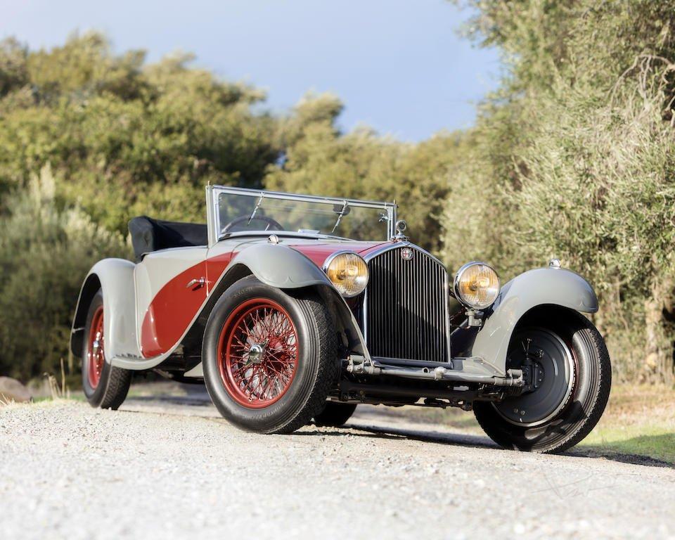 alfa romeo 8c 2300 cabriolet decapotable 1932 A semana de leilões que ocorre anualmente no Arizona é palco para os principais carros esportivos e antigos trocarem de mãos.