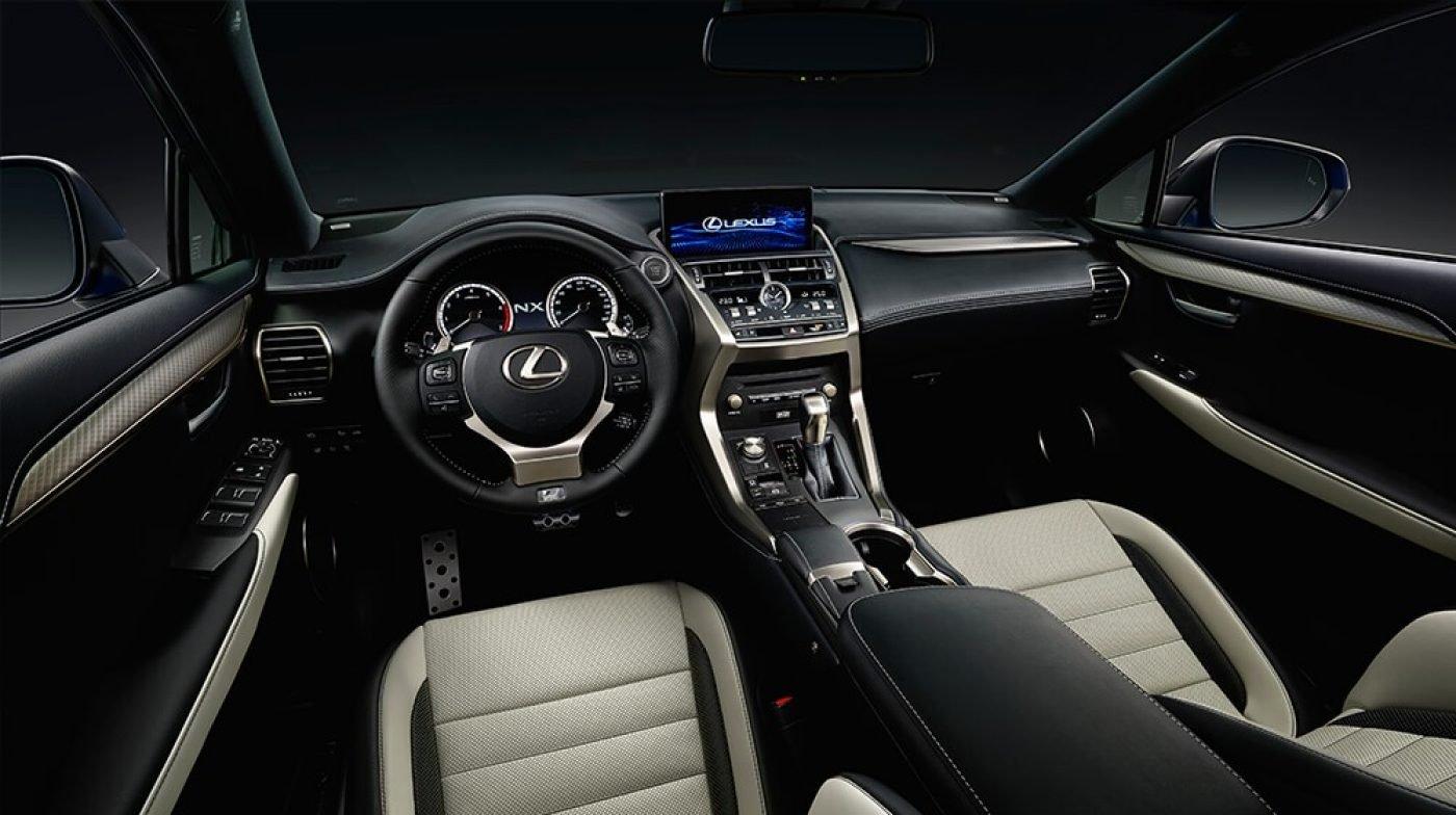 interior lexus nx 300h