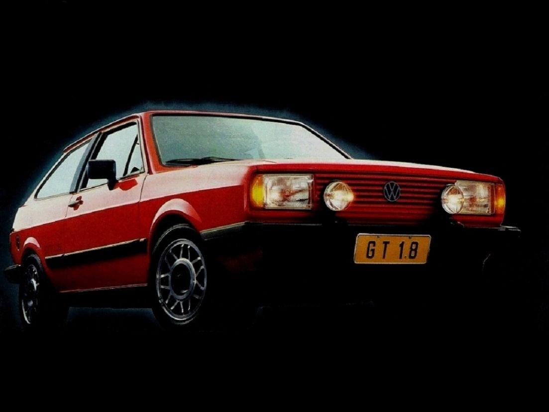 VW Gol GT vermelho