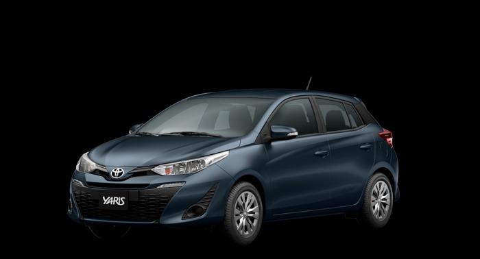 Carros automáticos mais baratos: yaris hatch xl