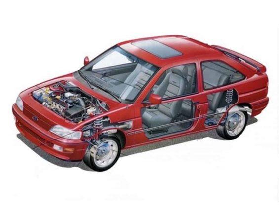Ford Escort XR3 1993