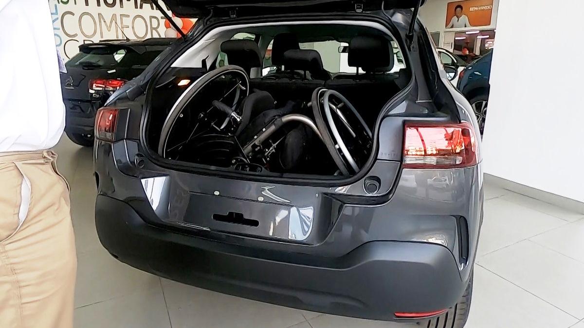 Porta-malas bom para PcD: Citroën C4 Cactus Foto Alessandro Fernandes | Divulgação
