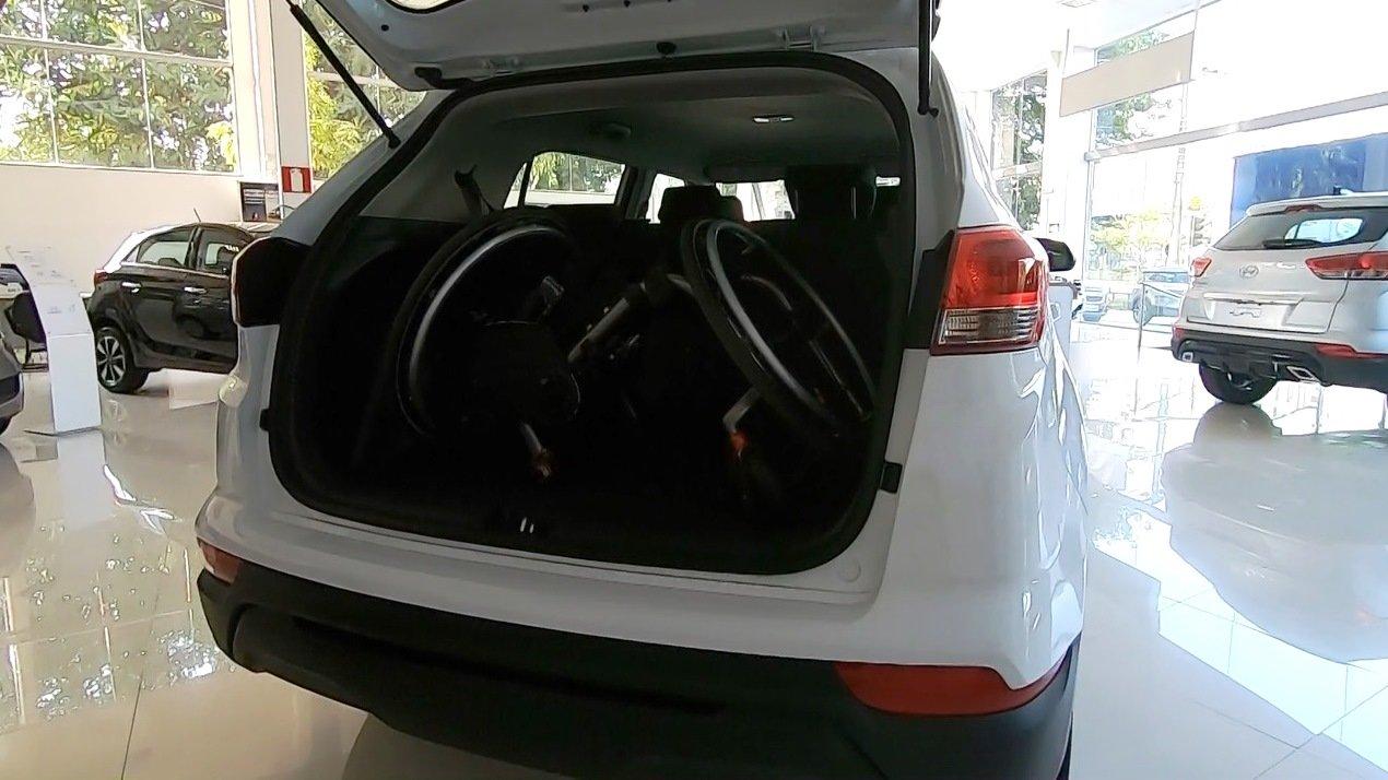 Porta-malas bom para PcD: Hyundai Creta Foto Alessandro Fernandes | Divulgação