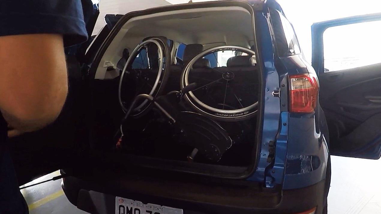 Porta-malas bom para PcD: Ford EcoSport Foto Alessandro Fernandes | Divulgação