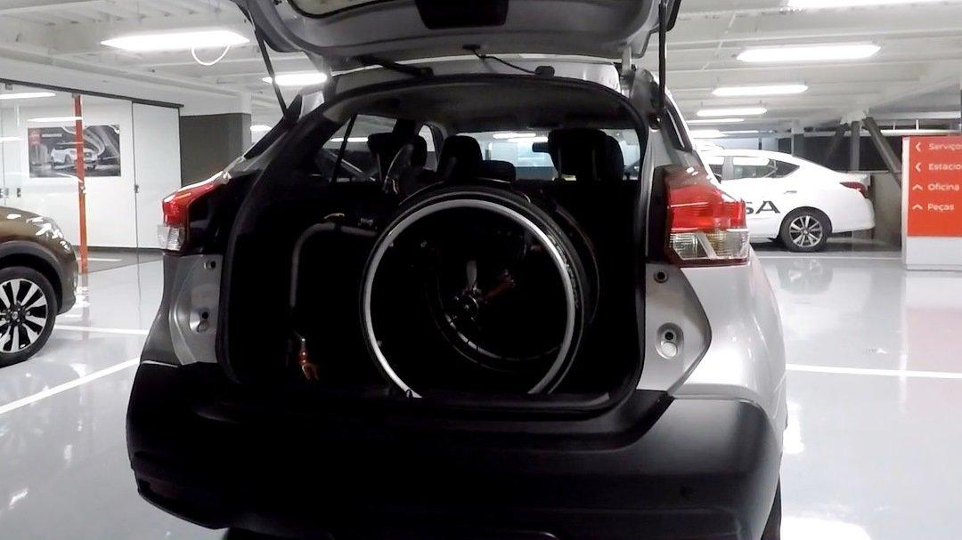 Porta-malas bom para PcD: Nissan Kicks Foto Alessandro Fernandes | Divulgação