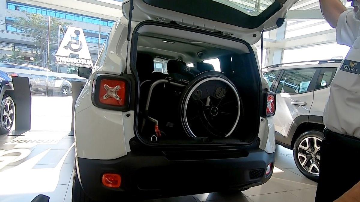 Porta-malas bom para PcD: Jeep Renegade Foto Alessandro Fernandes | Divulgação