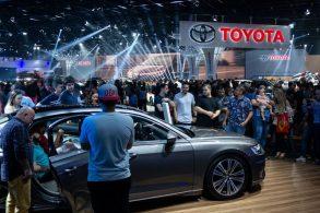 Toyota diz que não pretende desistir dos salões tão cedo