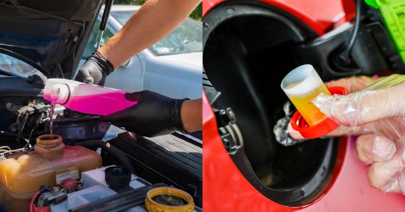 tipos aditivos para carro radiador gasolina caixa fluido