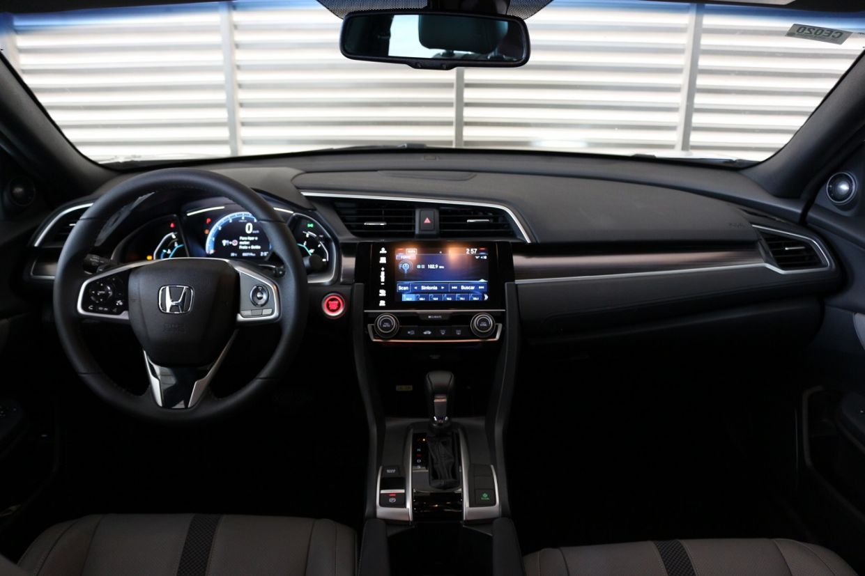 honda civic touring interior