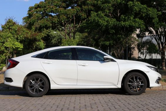honda civic touring perfil