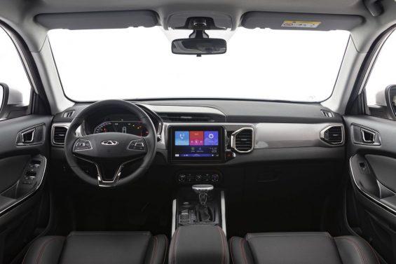 tiggo 5x 2021 interior cabine