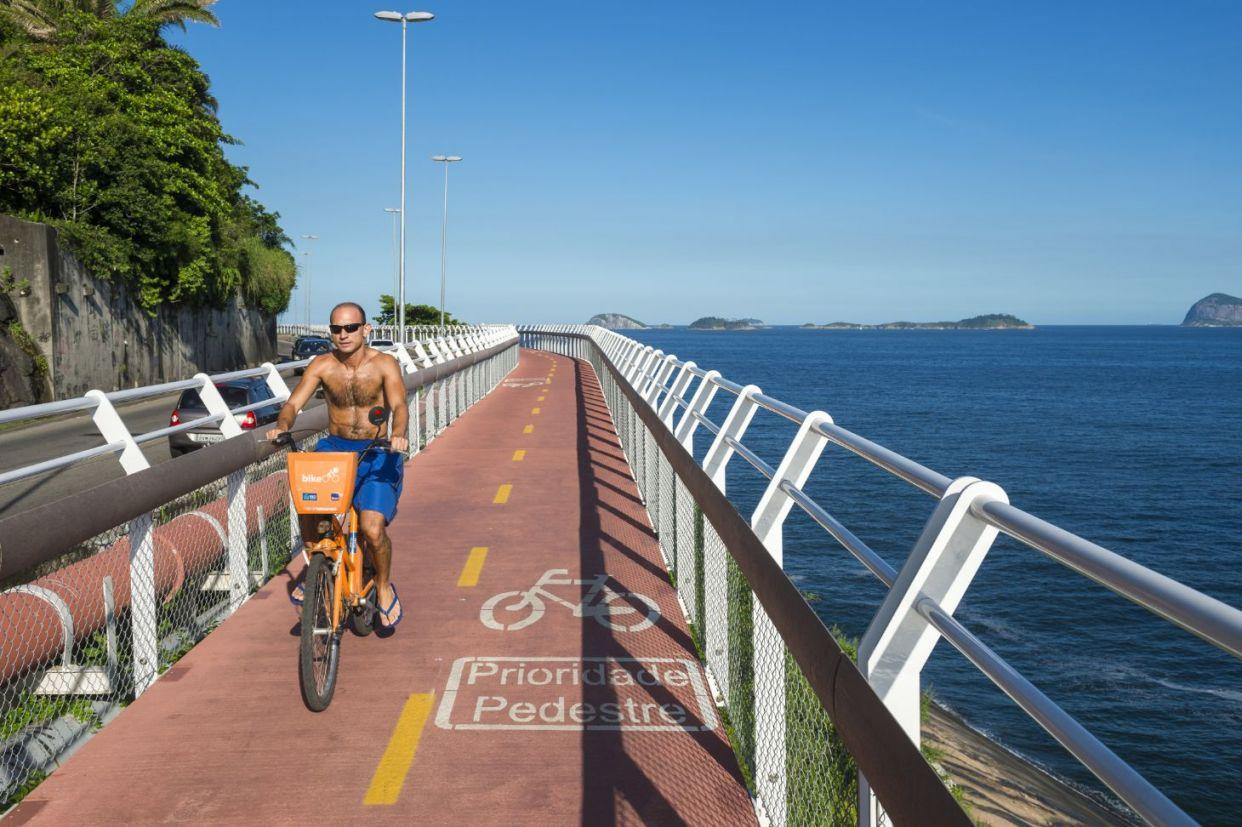 ciclovia no rio de janeiro brasil