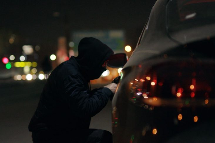 carro roubado shutterstock