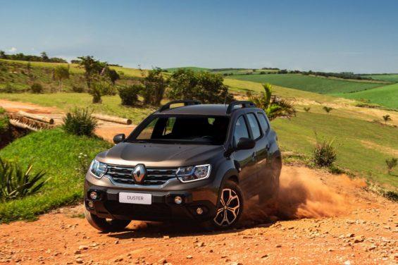 novo duster 2021 Renault na terra