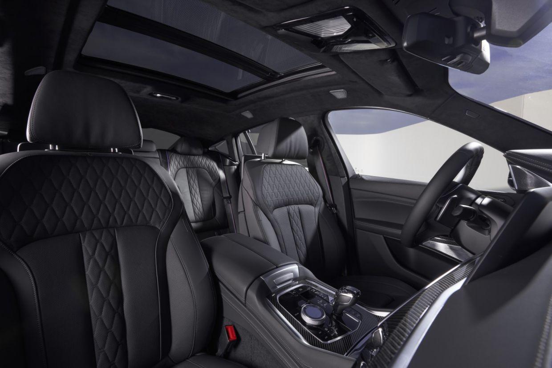 bmw x6 2020 interior cabine bancos dianteiros