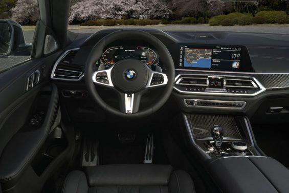 bmw x6 2020 interior cabine painel