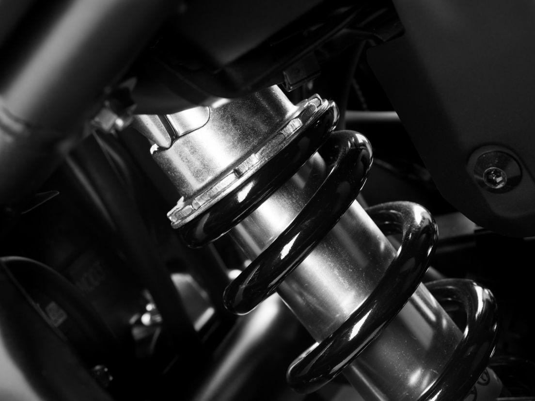 Suspensão da Honda CB 500F 2020 preta