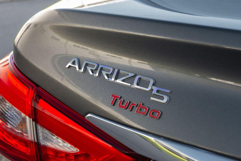 caoa chery arrizo5 2021 logomarca do motor turbo