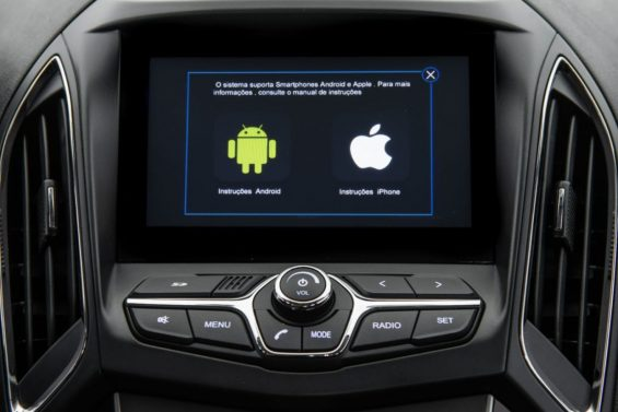 caoa chery arrizo5 2021 compativel com android auto e apple carplay