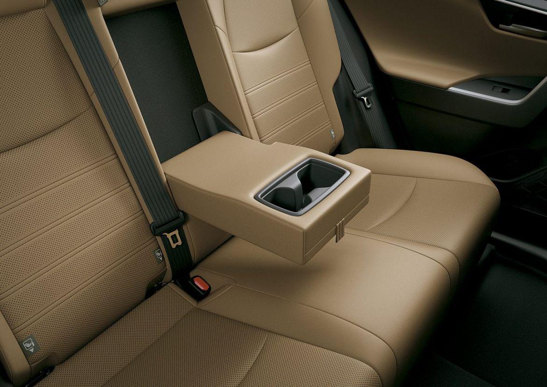 porta copos traseiro para os passageiros da rav4 connect hybrid 2020