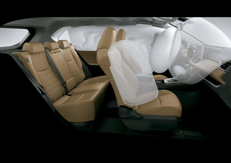 rav4 connect hybrid 2020 conta com sete airbags