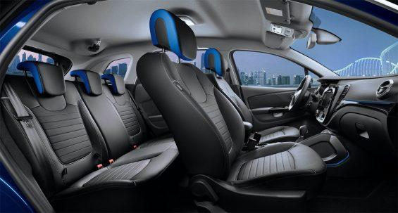 Interior do novo Renault Captur recém-lançado na Russia