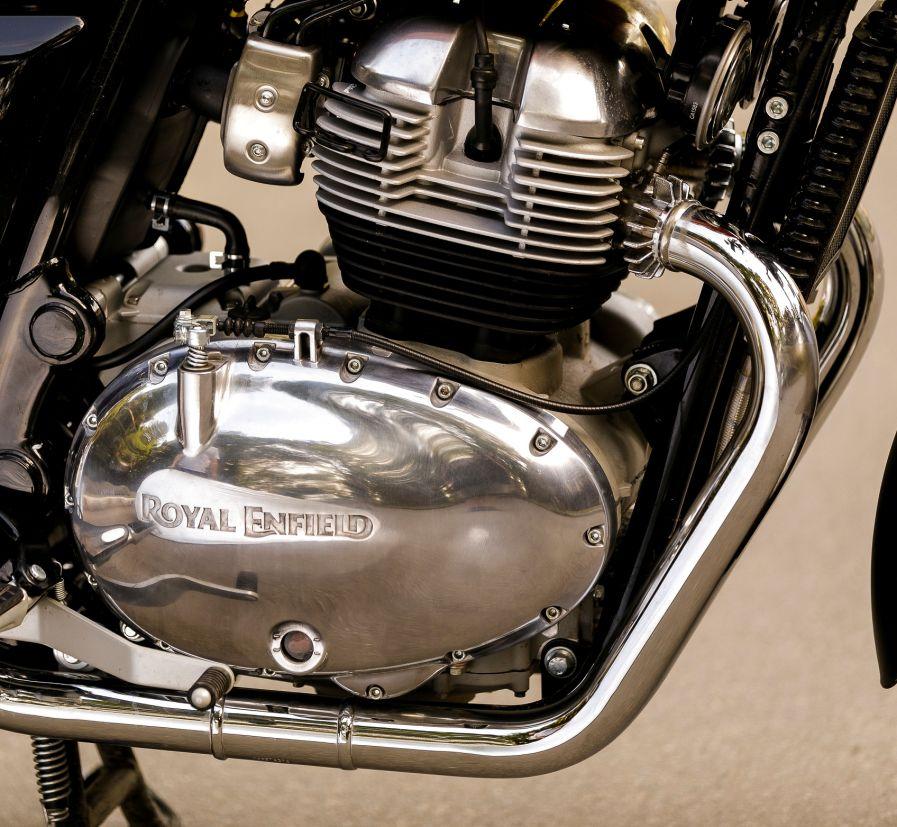 Motor Twin da Royal Enfield: 648 cm³ e 47 cv de potência