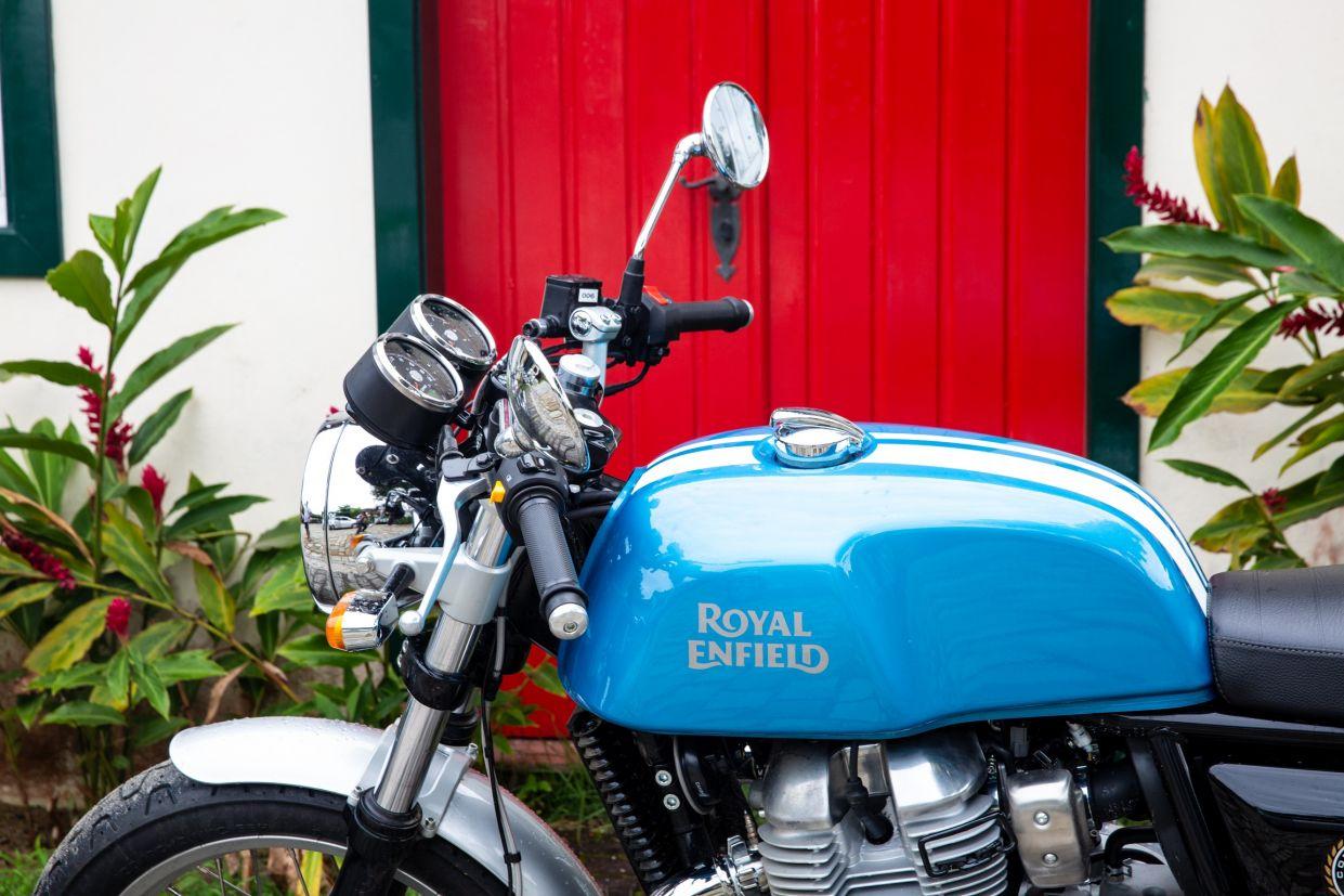 Tanque da Royal Enfield Continental GT