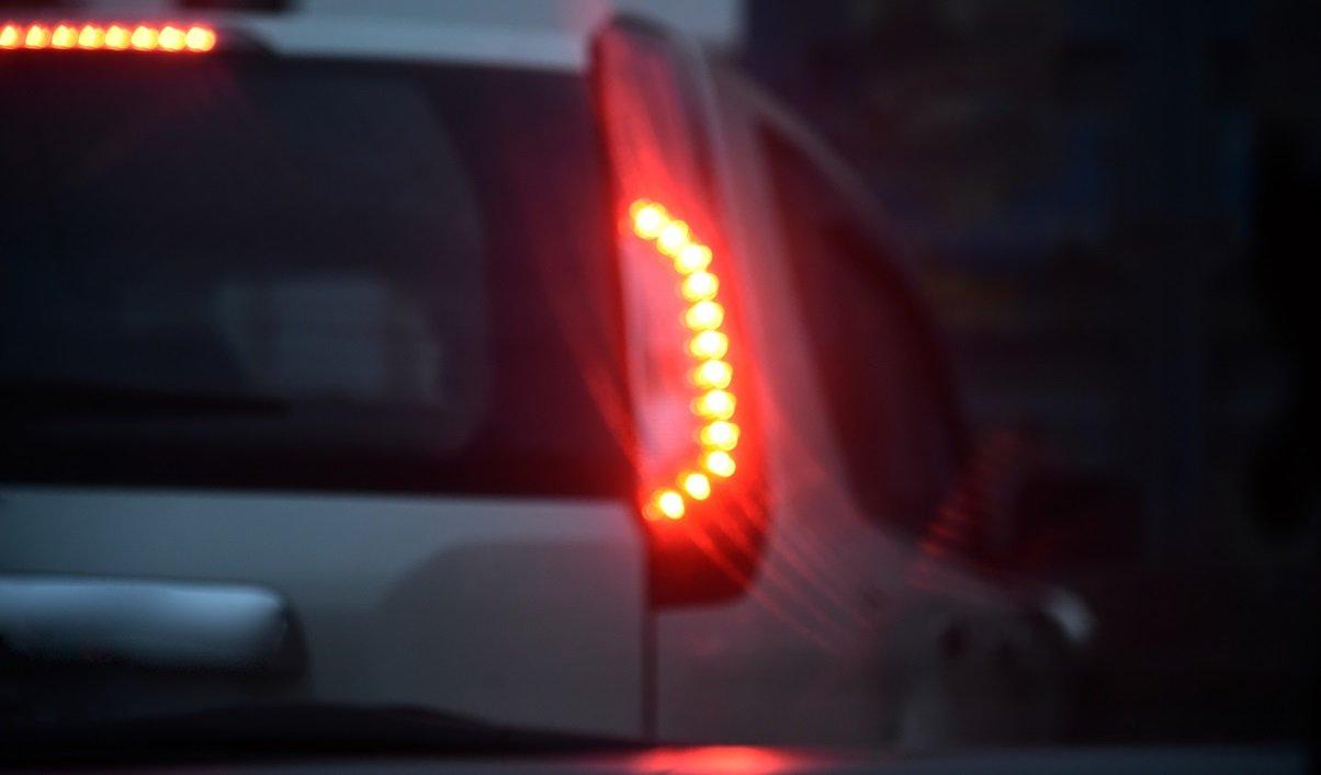 luz de freio brake light