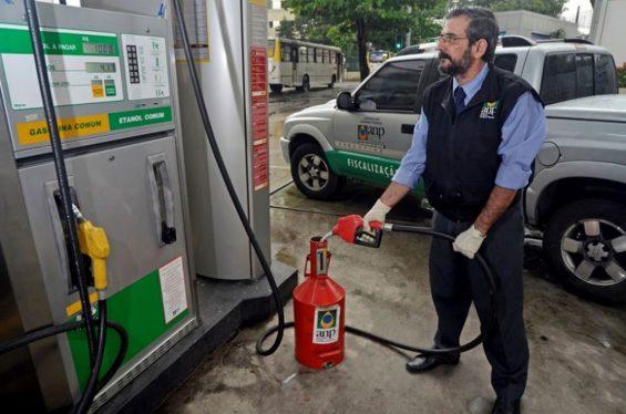 fiscalizacao de combustiveis anp adulteracao de quantidade