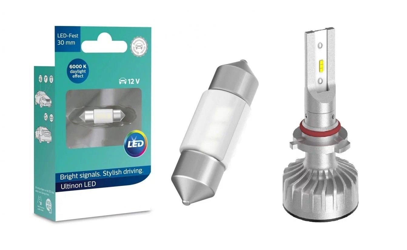 Lâmpadas de LED automotivas que iluminam melhor