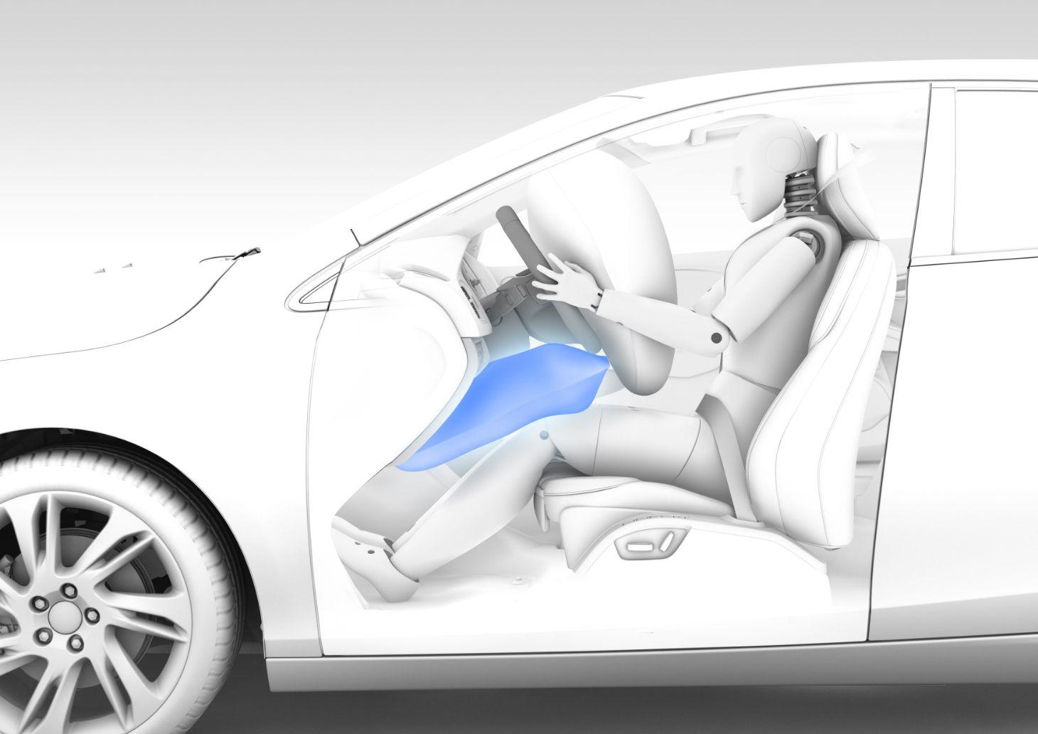 airbag de joelho volvo v40