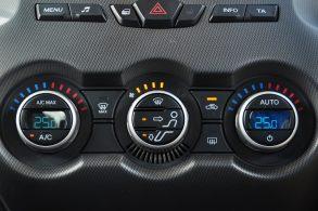 painel do ar condicionado