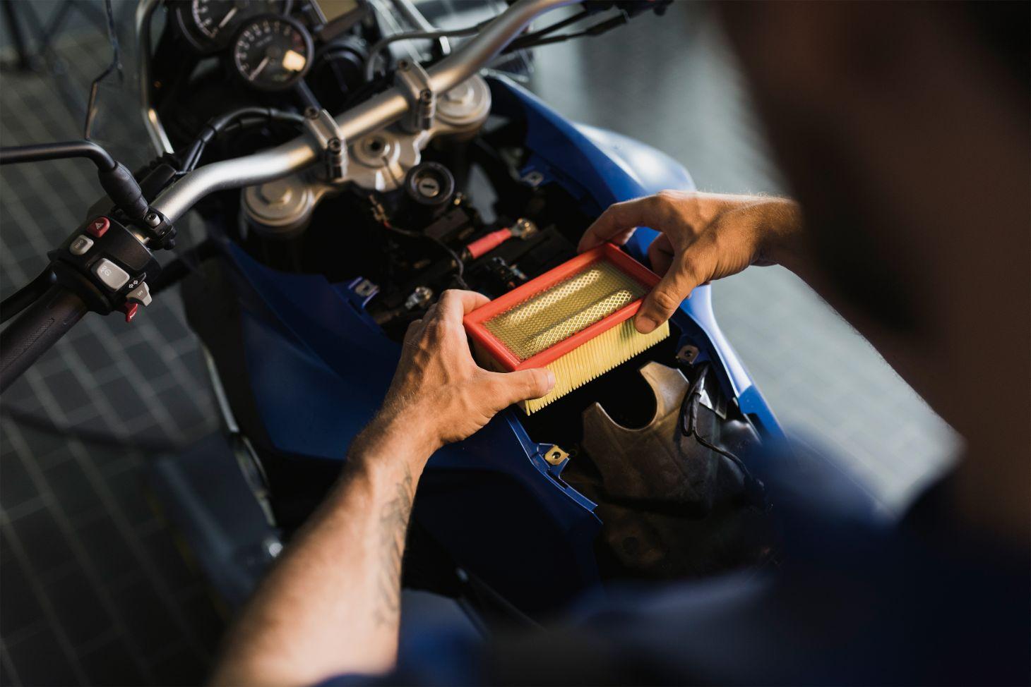 filtro de ar moto bmw