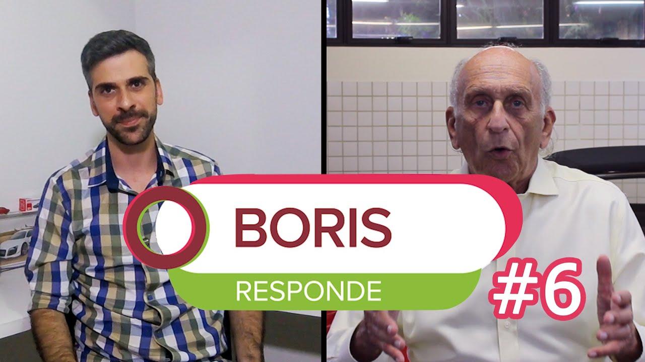 boris feldman e felipe boutros aparecem em vinheta para o video boris responde episodio 6