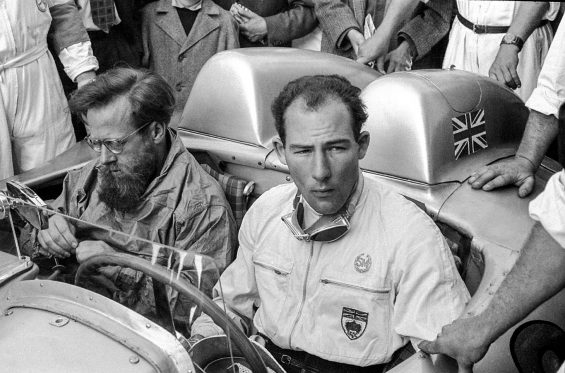 stirling moss mille miglia 1955