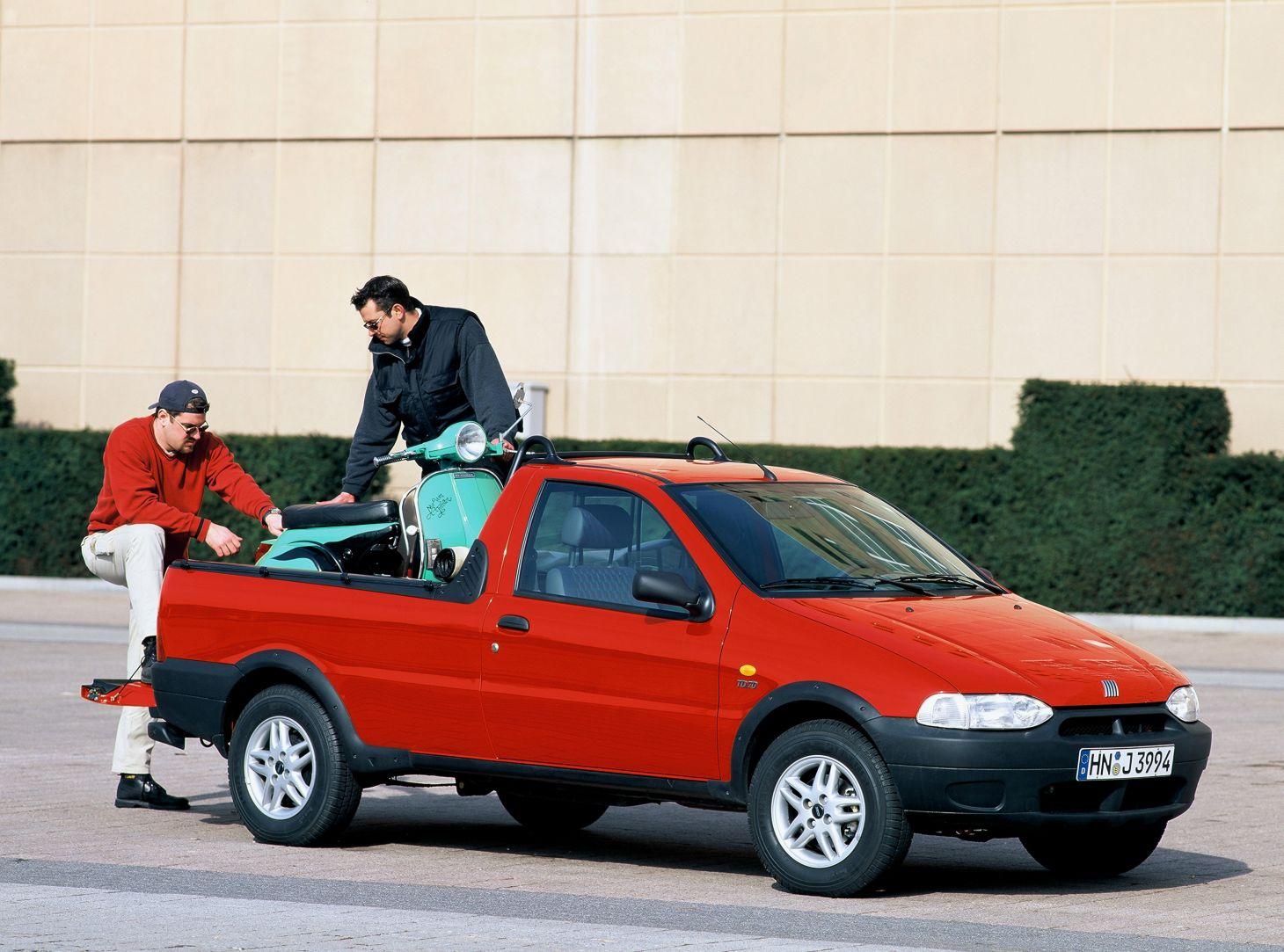 Carros nacionais exportados para países desenvolvidos: Fiat Strada