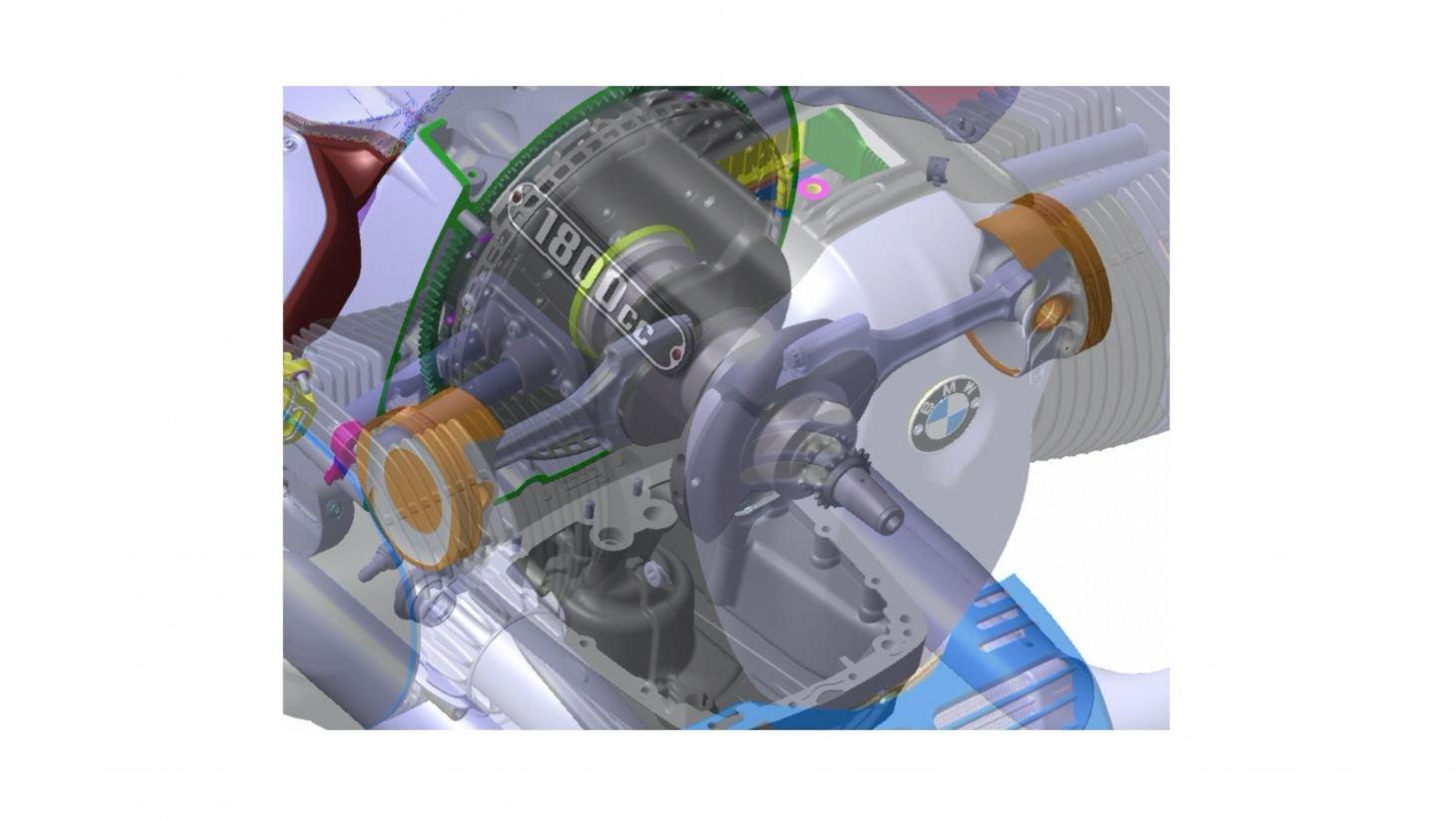 bmw r18 raio x do motor 2