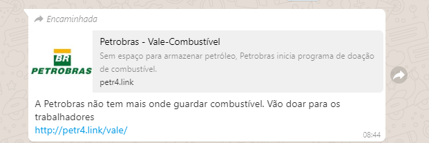 vale combustivel