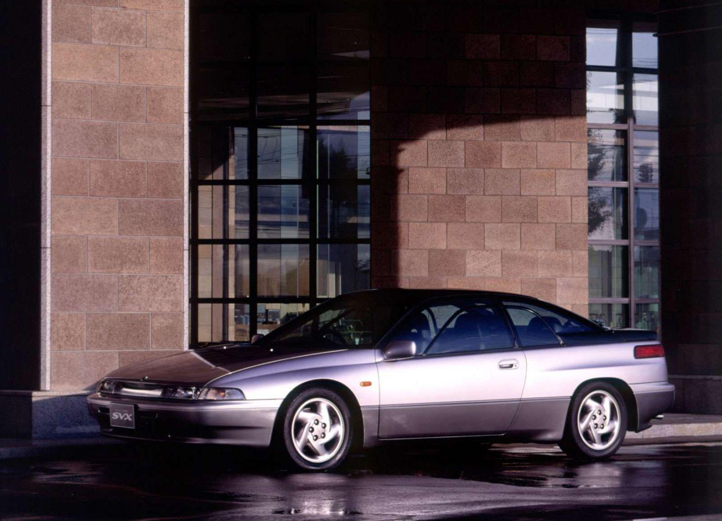 carros japoneses: subaru alcyone svx coupe frente