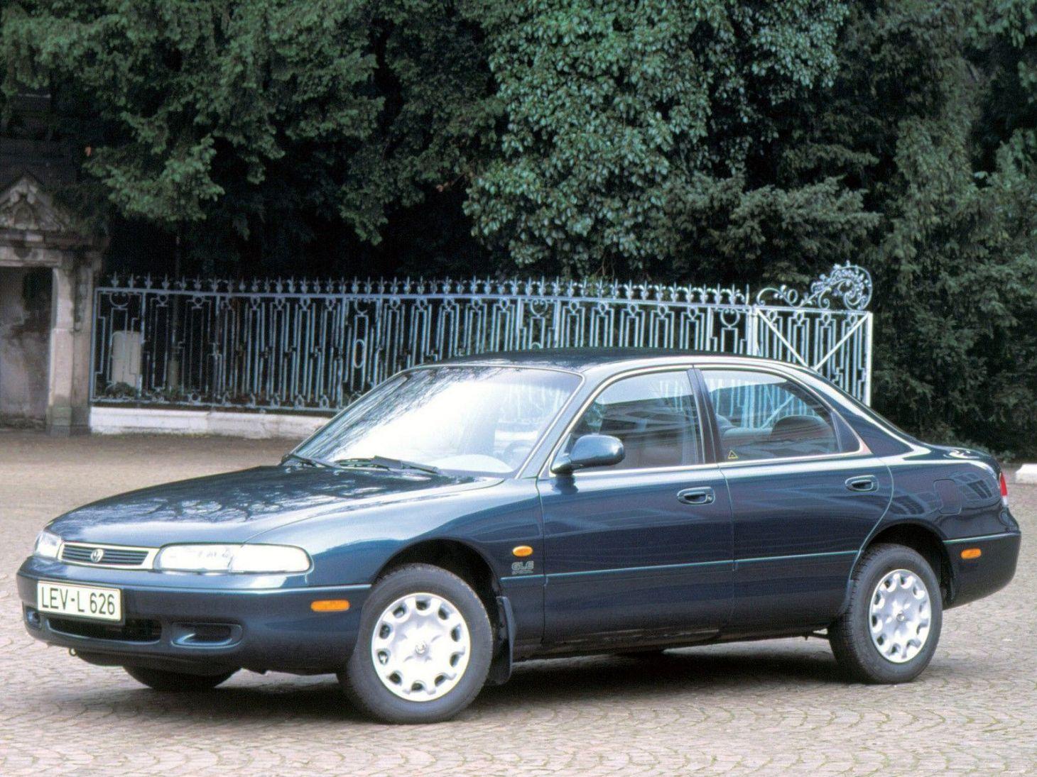 mazda 626 sedan frente
